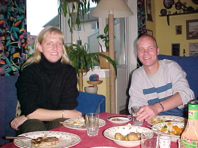 What a smiles! The dinner was very good and very vitaminic!