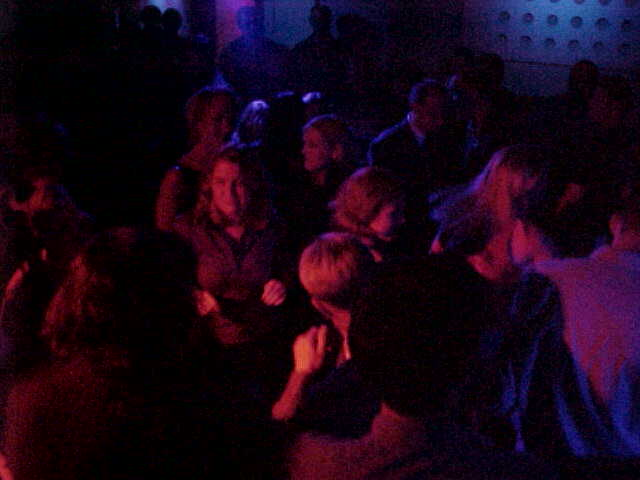 A crowded dancefloor in Metro...