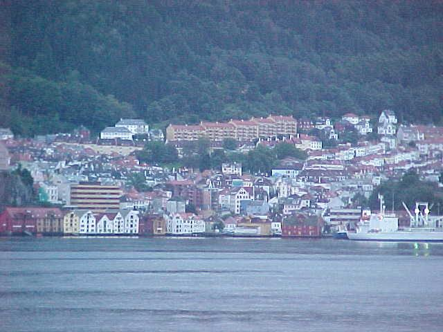 My last views on Bergen, great city... from the boat...