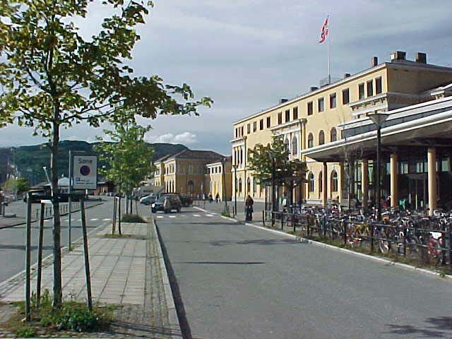 The original Trondheim train station...