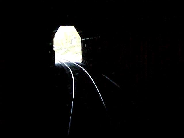 Or was I still in that tunnel? Strange...