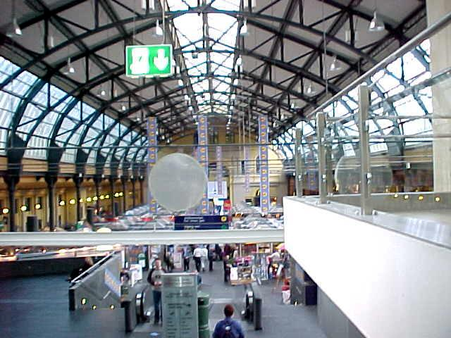 Oslo Sentrum, the central station of Oslo.