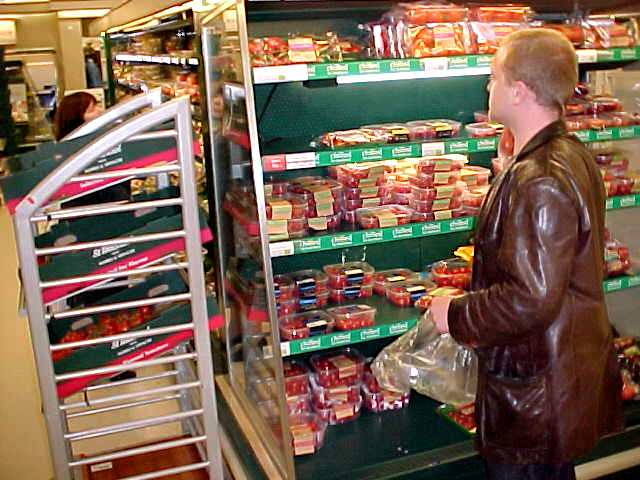 But it was getting dinner time and Sean went for some shopping for tonights dinner.