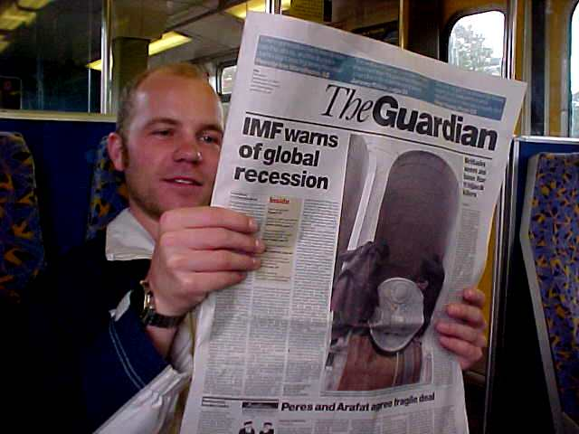The Guardian (sponsor, sponsor, sponsor!) is a great newspaper!!!
