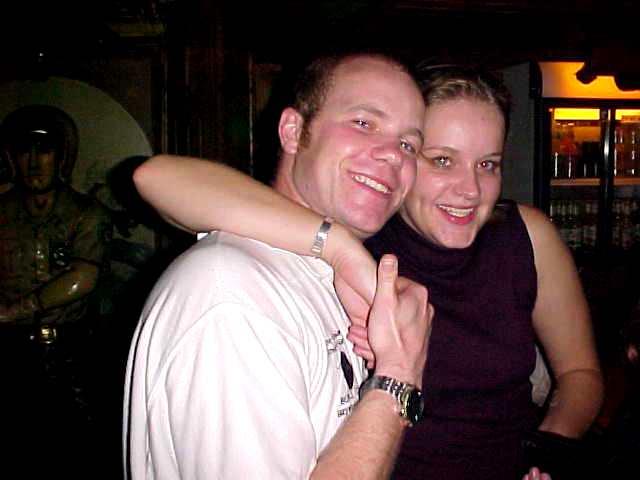 Me and adorable good friend Annemiek (Meek).
