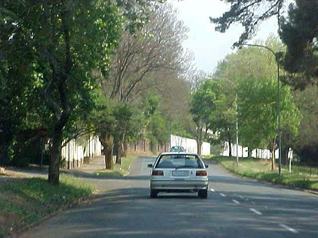 This is how many streets in Johannesburg look like.