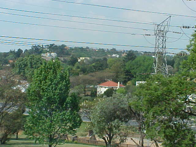 The view from the hill where Radio City is located.
