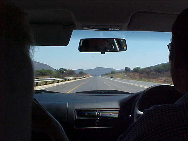 And just like the scenery, the road to Johannesburg seemed endless.