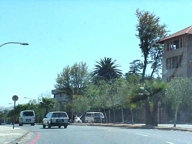 And by driving through Johannesburg, it all does not really seem a big city every where.
