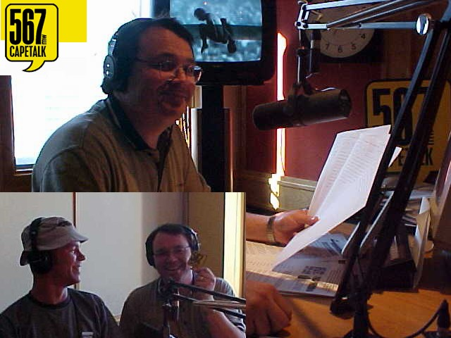 I had an interview with talkshow host Martin Bailie on CapeTalk, the local talkradio station of Cape Town.