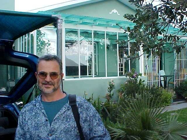 Jon Weinberg picked me up at Ludo's place, when I returned from the island.