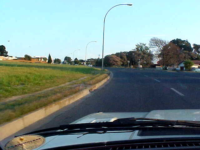 Driving to Denises friends in Brackenfell.