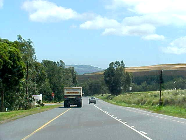 And through the Durbanville Hills...