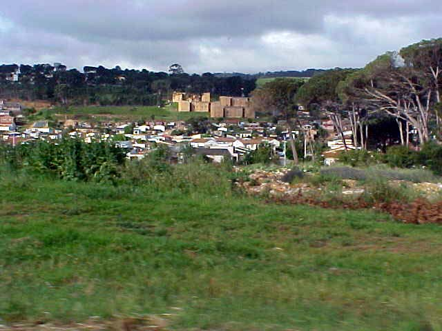 And like every city in South Africa, the townships are still on the outside.
