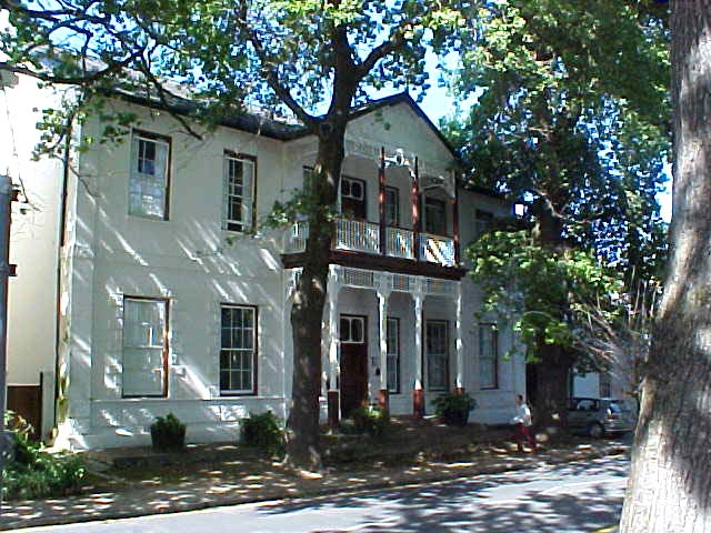One of the oldest buildings in Stellenbosch, the Victorian style has been added in the 17th century...