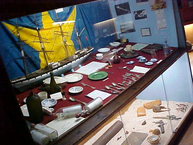 And at the Shipwreck Museum in Bredasdorp I got to see all kinds of findings that came ashore from shipwrecks.