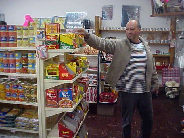 - Hey Ramon, stop taking photographs of me while shopping!
