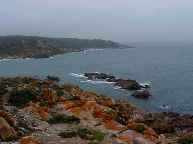 ...to show me this beautiful sight from Vleesbaai.