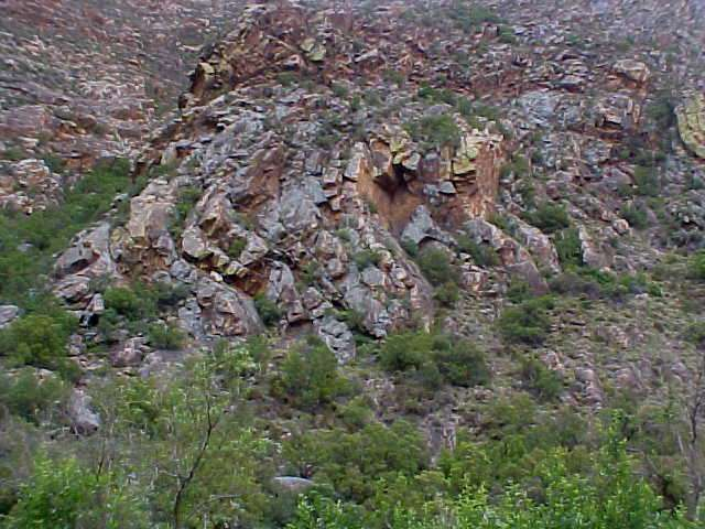 The Swartberg Mountains are part of the Cape Fold Mountain range. Fold because of the structure of the rocks.