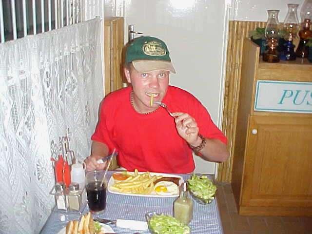 Mmm, that dinner was good!