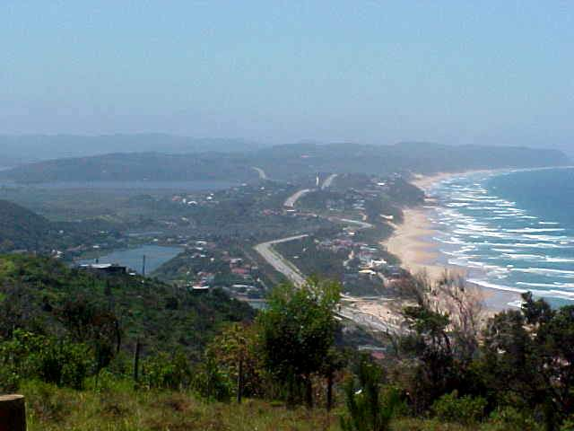 Where the Heritage Trail ended, I had this beautiful view on Wilderness and the rest of the Garden Route along the beach. I am going to love this place!