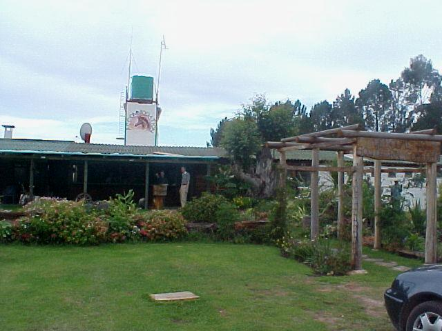 The Southern Comfort horse ranch in the forest of Plettenberg Bay. It looks comfy and more Western than southern...