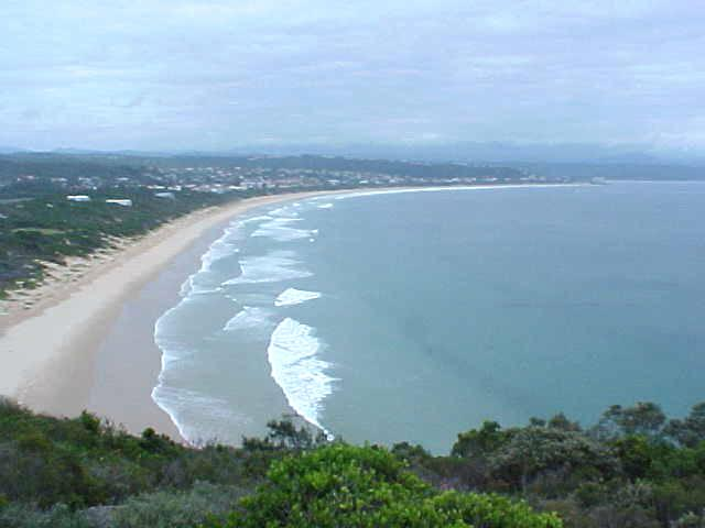 And the peninsula gave an excellent view on to Plettenberg Bay. At this point we even saw dolphins swimming by.