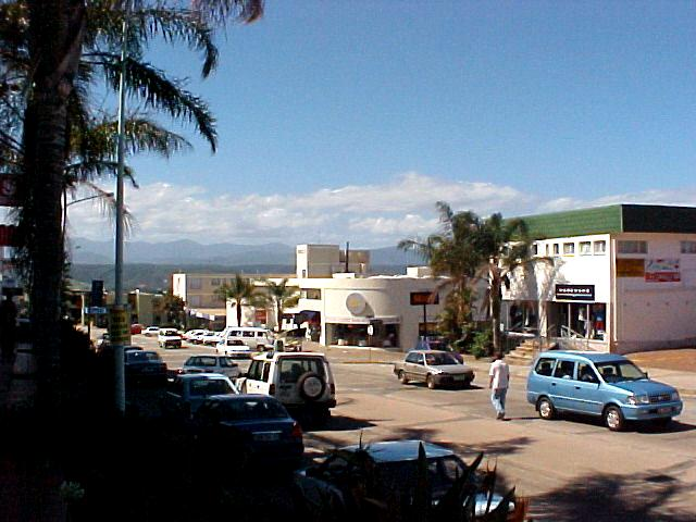...shots taken of the Plett main street.