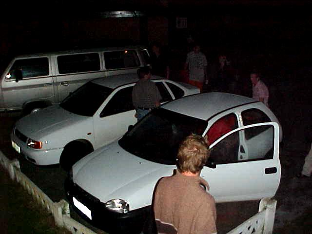 With an invitation to eat out tonight, everybody got ready to move towards Plettenberg Bay.