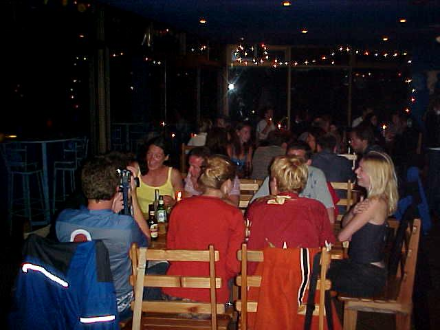 We all had dinner at the Blue Chili in Plett, a hip restaurant which chilling music is still in my head.