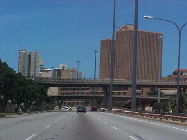 And Port Elizabeth looks a lot like a lot big cities. But so much concrete!