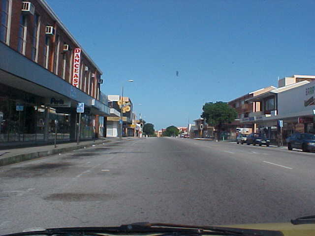 And seeing the empty street of Sunday afternoon PE...