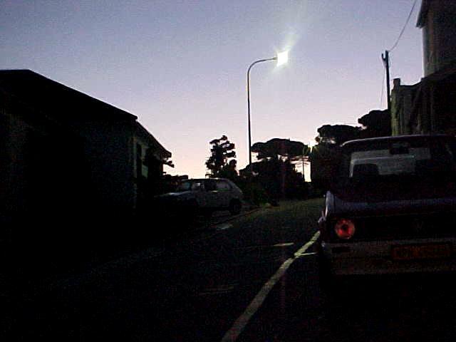 Sunset in Port Elizabeth.