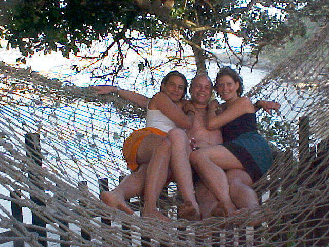 But I just have to share with you that hammocks are fun!