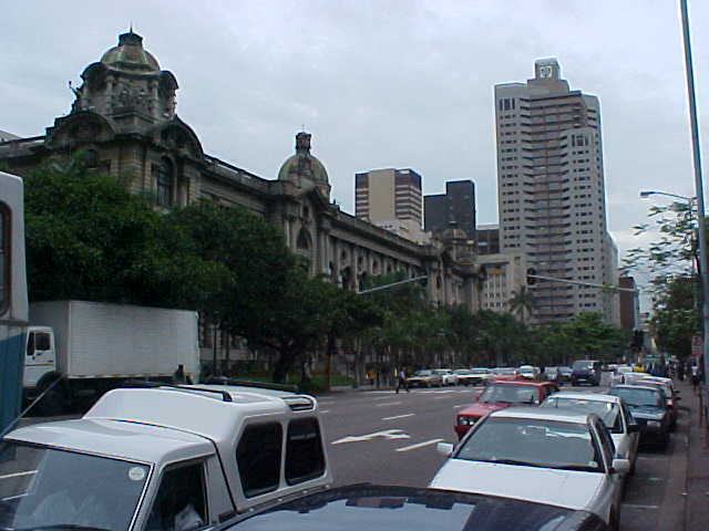 But I did see something fascinating in Durban. This is the City Hall, built in all colonial styles.