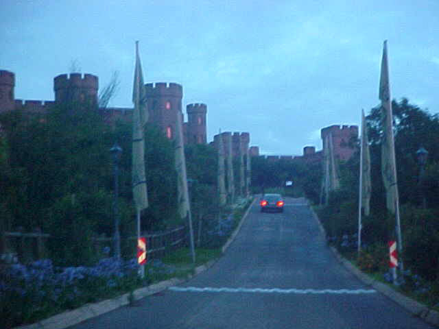 The castle where tonights event took place, just outside on the hills surrounding Johannesburg.