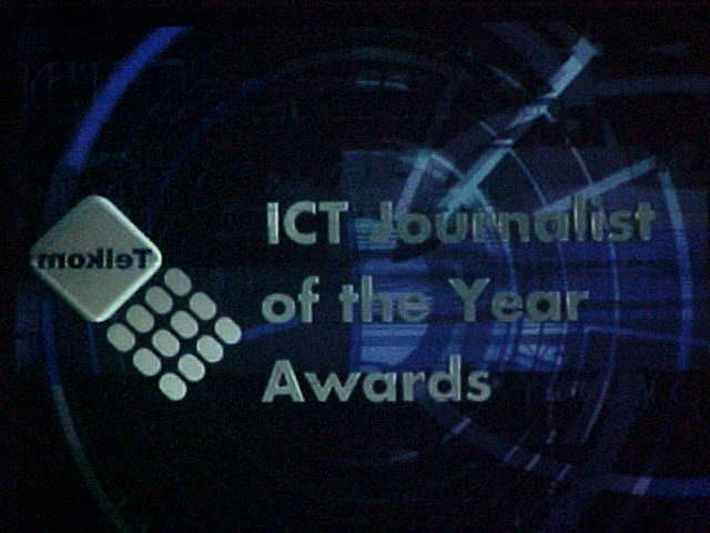 Telephone company Telkom organized the ICT Journalist of the Year Award, so you understand that I was surrounded by the top of IT-journalism in South Africa.