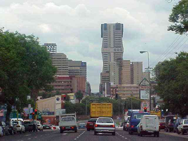 Pretoria city by car.