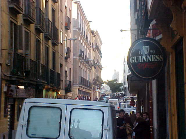 Almost every street has a pub, and sometimes it even is an Irish pub with my most beloved beer...