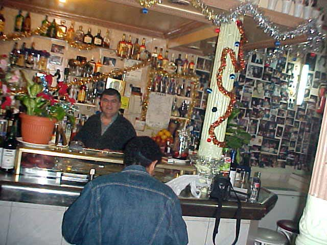 Here Benito, the most honest bartender in the world, serves his guests in this little place where only 10 people fit in.