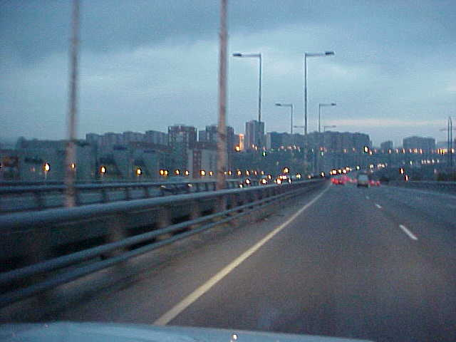 And early in the morning, we got on the road to Barcelona city.