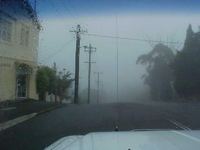 Misty morning at Katoomba.