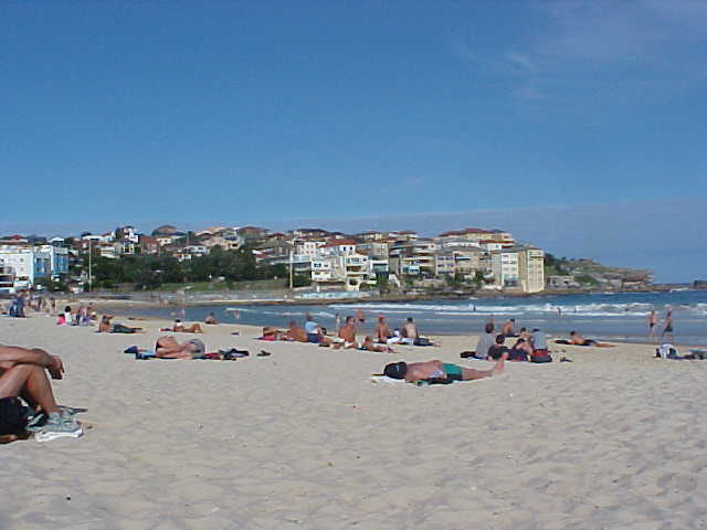 ...as most travellers start or finish their trip through Australia in Bondi.