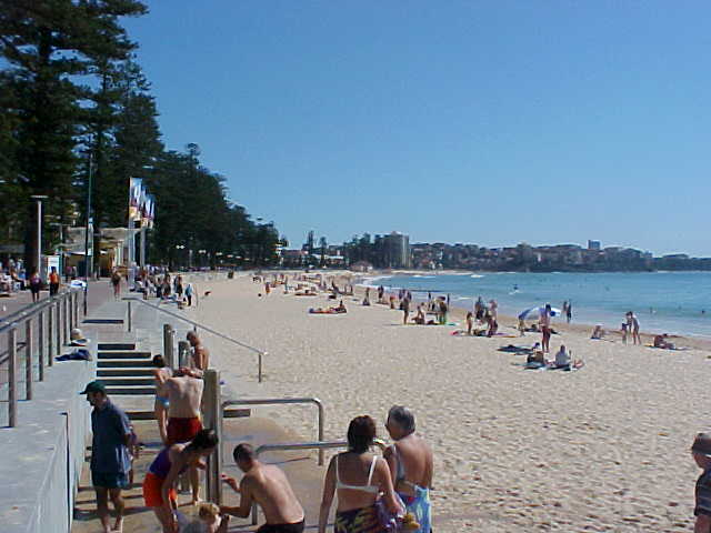 Wow! Manly Beach! Feeling hot hot hot!