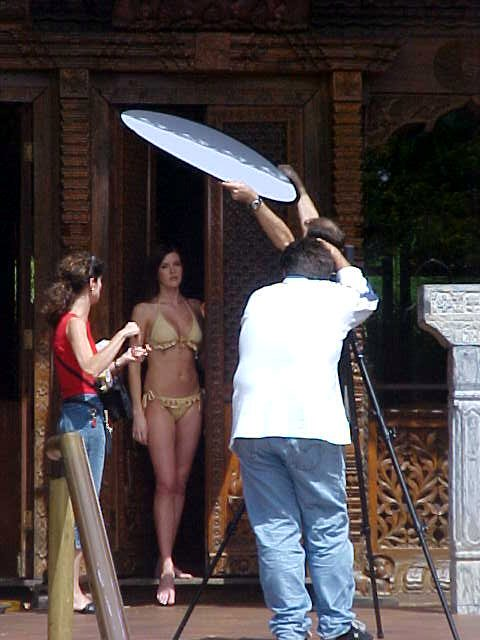 And was that fun! They were shooting the ladies for the Letmestayeveryday-2003-calender!