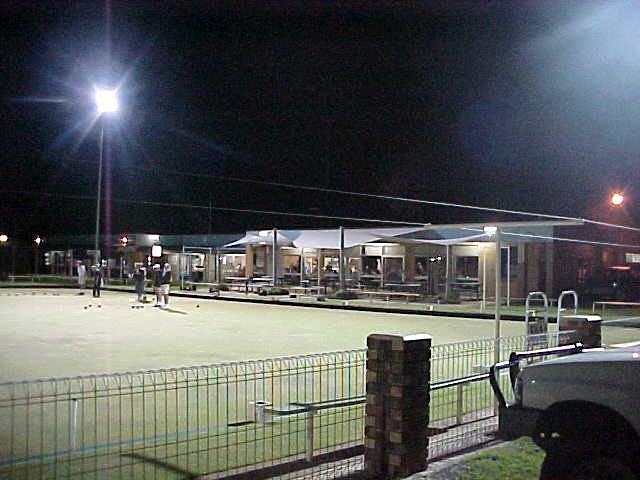 In the evening I was offered a dinner at the local Bowls Club. Another sport I will probably never understand very easily.