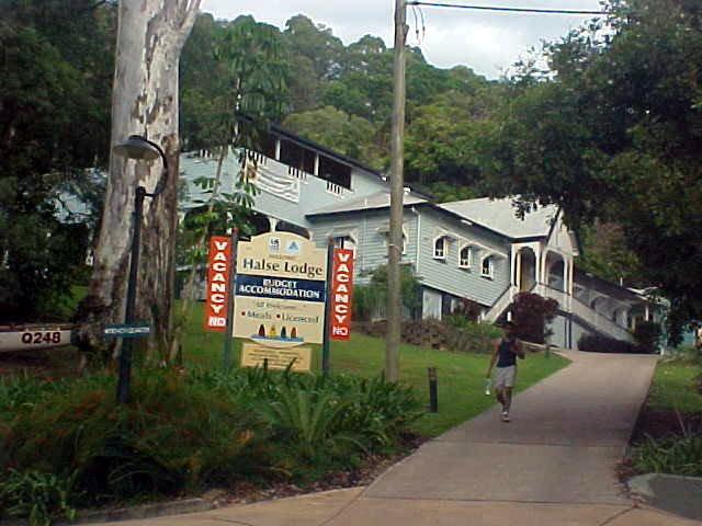 The Halse Lodge in Noosa Heads. Lovely!