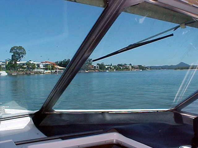 Sailing the Noosa River