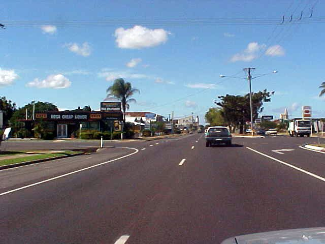 Sight of Bundaberg City.