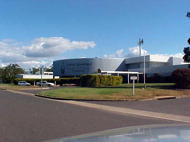 The local department of the Queensland University in Bundaberg.